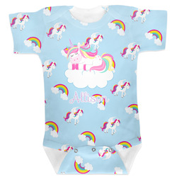 Rainbows and Unicorns Baby Bodysuit (Personalized)