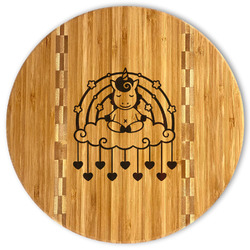 Rainbows and Unicorns Bamboo Cutting Board (Personalized)