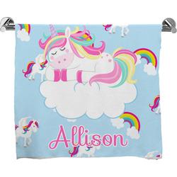 Rainbows and Unicorns Bath Towel w/ Name or Text