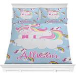Rainbows and Unicorns Comforters (Personalized)
