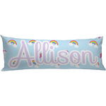 Rainbows and Unicorns Body Pillow Case (Personalized)