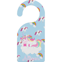 Rainbows and Unicorns Door Hanger w/ Name or Text