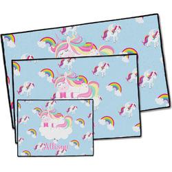 Rainbows and Unicorns Door Mat (Personalized)