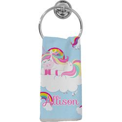 Rainbows and Unicorns Hand Towel - Full Print w/ Name or Text