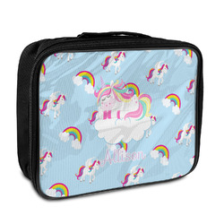 Rainbows and Unicorns Insulated Lunch Bag w/ Name or Text
