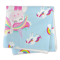 Rainbows and Unicorns Large Microfiber Dish Rag (Personalized)