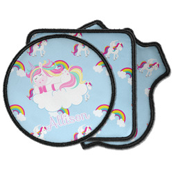 Rainbows and Unicorns Iron on Patches (Personalized)