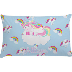 Rainbows and Unicorns Pillow Case (Personalized)