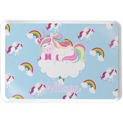 Rainbows and Unicorns Serving Tray w/ Name or Text