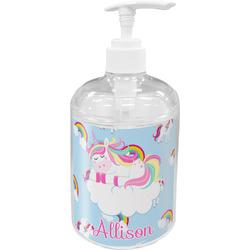 Rainbows and Unicorns Acrylic Soap & Lotion Bottle (Personalized)