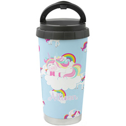 Rainbows and Unicorns Stainless Steel Coffee Tumbler (Personalized)