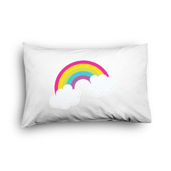 Rainbows and Unicorns Pillow Case - Toddler - Graphic (Personalized)