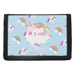 Rainbows and Unicorns Trifold Wallet w/ Name or Text