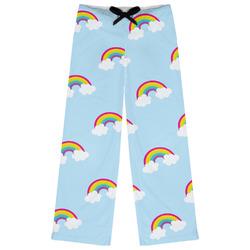 Rainbows and Unicorns Womens Pajama Pants (Personalized)