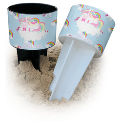 Rainbows and Unicorns Beach Spiker Drink Holder (Personalized)