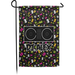 Music DJ Master Garden Flag - Single or Double Sided (Personalized)