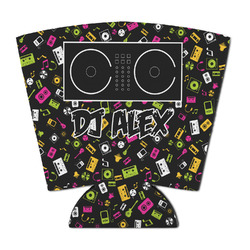 DJ Music Master Party Cup Sleeve (Personalized)