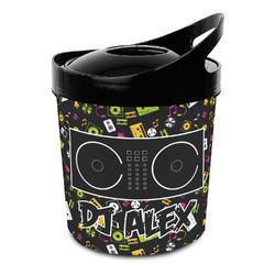 Music DJ Master Plastic Ice Bucket (Personalized)