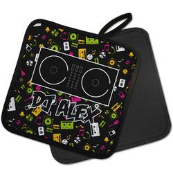 Music DJ Master Pot Holder w/ Name or Text