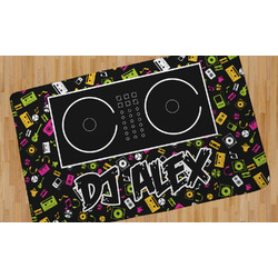 Music DJ Master Area Rug (Personalized)