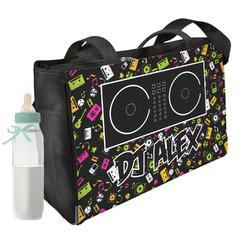 Music DJ Master Diaper Bag w/ Name or Text