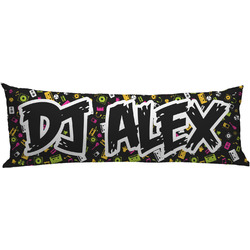 Music DJ Master Body Pillow Case (Personalized)