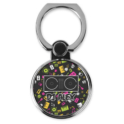 Music DJ Master Cell Phone Ring Stand & Holder (Personalized)