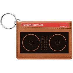 Music DJ Master Leatherette Keychain ID Holder (Personalized)