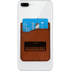 Music DJ Master Leatherette Phone Wallet (Personalized)
