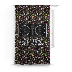 Music DJ Master Curtain (Personalized)