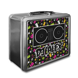 Music DJ Master Lunch Box w/ Name or Text