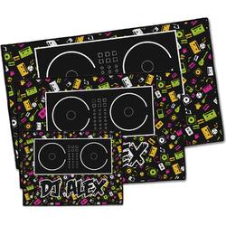 Music DJ Master Door Mat (Personalized)