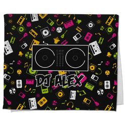 Music DJ Master Kitchen Towel - Full Print w/ Name or Text