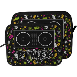 Music DJ Master Laptop Sleeve / Case (Personalized)