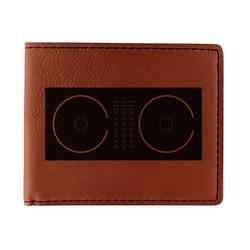 Music DJ Master Leatherette Bifold Wallet (Personalized)