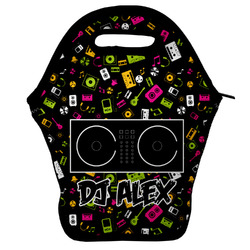 Music DJ Master Lunch Bag w/ Name or Text