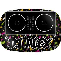 Music DJ Master Melamine Platter w/ Name or Text