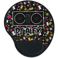 Music DJ Master Mouse Pad with Wrist Support