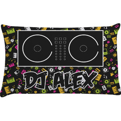 Music DJ Master Pillow Case (Personalized)