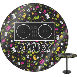 Music DJ Master Round Table (Personalized)