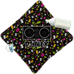 Music DJ Master Security Blanket w/ Name or Text