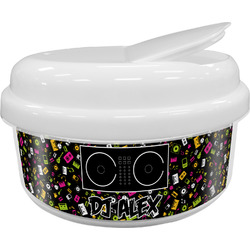 Music DJ Master Snack Container (Personalized)