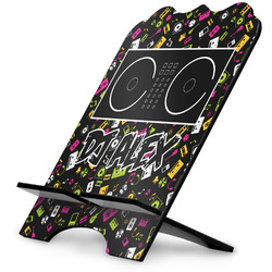 Music DJ Master Stylized Tablet Stand w/ Name or Text