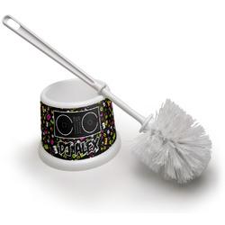 Music DJ Master Toilet Brush (Personalized)