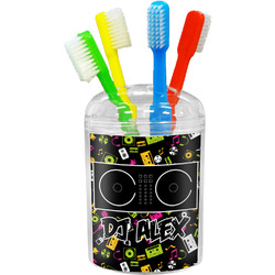 Music DJ Master Toothbrush Holder (Personalized)