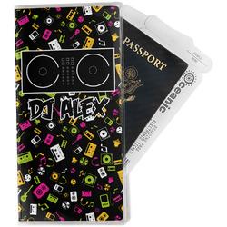 Music DJ Master Travel Document Holder