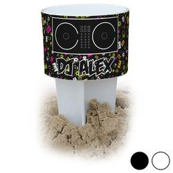 Music DJ Master Beach Spiker Drink Holder (Personalized)