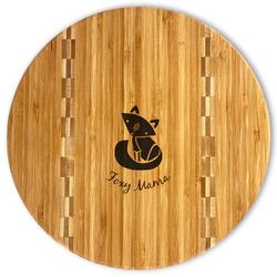 Foxy Mama Bamboo Cutting Board