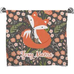 Foxy Mama Full Print Bath Towel