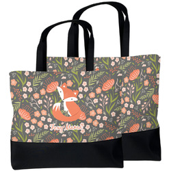 Foxy Mama Beach Tote Bag